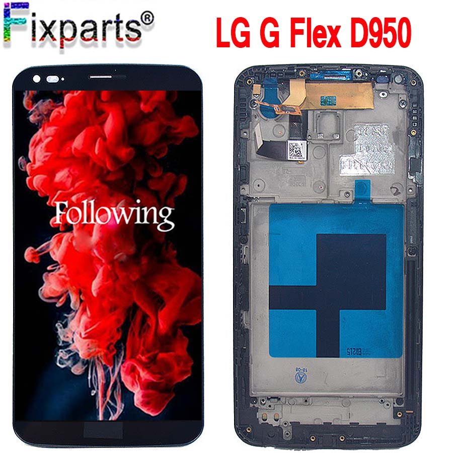 6.0 Per LG G Flex D950 LCD 100% di Prova Con Telaio D955 LS995 D958 LCD Touch Screen Digitizer Assembly di ricambio Per LG G LS9956.0 Per LG G Flex D950 LCD 100% di Prova Con Telaio D955 LS995 D958 LCD Touch Screen Digitizer Assembly di ricambio Per LG G LS995