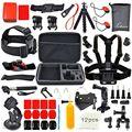 36-в-1 Универсальный Спорт На Открытом Воздухе Большой Размер Комплект Аксессуары для GoPro Hero 5/4/3 + SJ4000 SJCAM SJ6 SJ7 4 К Экшн Камеры GPK03