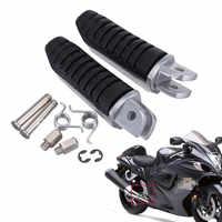 Motorrad Vorne Fußrasten Fußrasten Für Suzuki V Strom 650 1000 DL650 DL1000 GSX1300R GSX1300 Hayabusa GSX650F GSX1400 B- könig