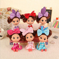 12cm confused doll wedding dolls vinyl toys baby doll creative children's toys