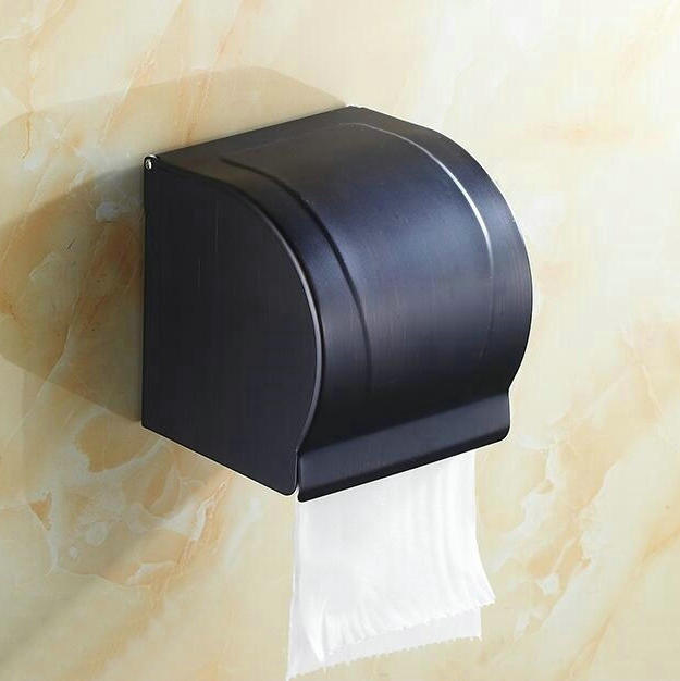 New Arrival Black Bronze Bathroom Tissue Holder Toilet Paper Holder