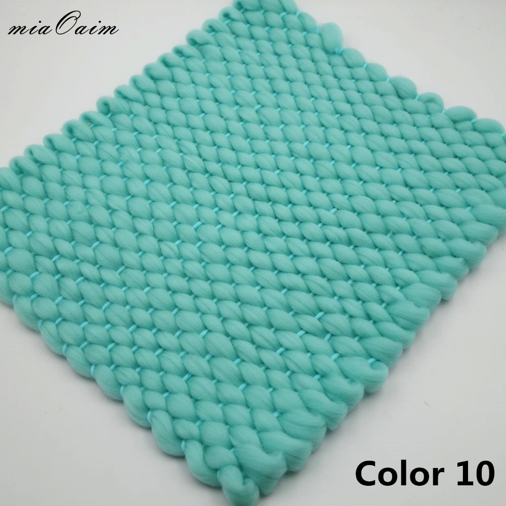 5Colors/Lot New Knitted Crochet Blanket Mat Baby Newborn Balls Blanket Photo Prop Newborn Baby Photography Props Accessories