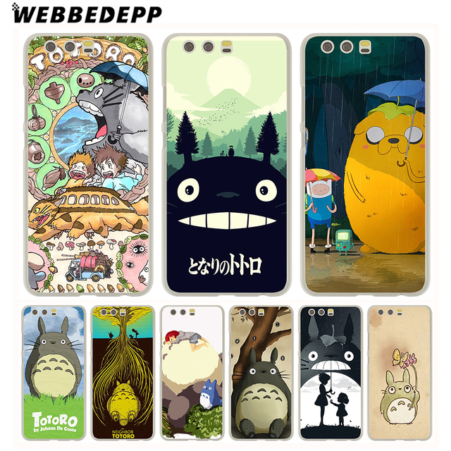 the latest 6f73d b8aa2 US $1.88 6% OFF|WEBBEDEPP And Anime My Neighbor Totoro Phone Case for  Huawei P20 Pro smart P10 P9 Lite 2016/2017 P8 Lite 2015/2017 Cover-in ...