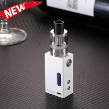 ใหม่บุหรี่อิเล็กทรอนิกส์A50 50วัตต์shishaอิเล็กทรอนิกส์ควบคุมอุณหภูมิTI/TI/SS316เดิมเครื่องฉีดน้ำบุหรี่อิเล็กทรอนิกส์Vape vaporizerถัง