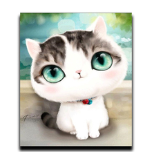 Diy Diamond Cross stitch painting Diamond embroidered Cat carpet mosaic Diamond Rhinestone glued paint crafts Needlework 3d diy diamond painting horse square rhinestone diamond embroidered mosaic mosaic stitch crafts luovizem l149