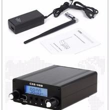 ЖК-дисплей PLL 76MHz~ 108MHz FM длинный диапазон 0,5 W FM стерео вещания домашний передатчик+ антенна+ адаптер питания