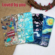 ! Accezz TPU Lembut Kartun 3D Pelindung Back Cover untuk Apple iPhone 6/6s/7/8 PLUS Case Fashion Bermotif Telepon shell Funda Coque(China)