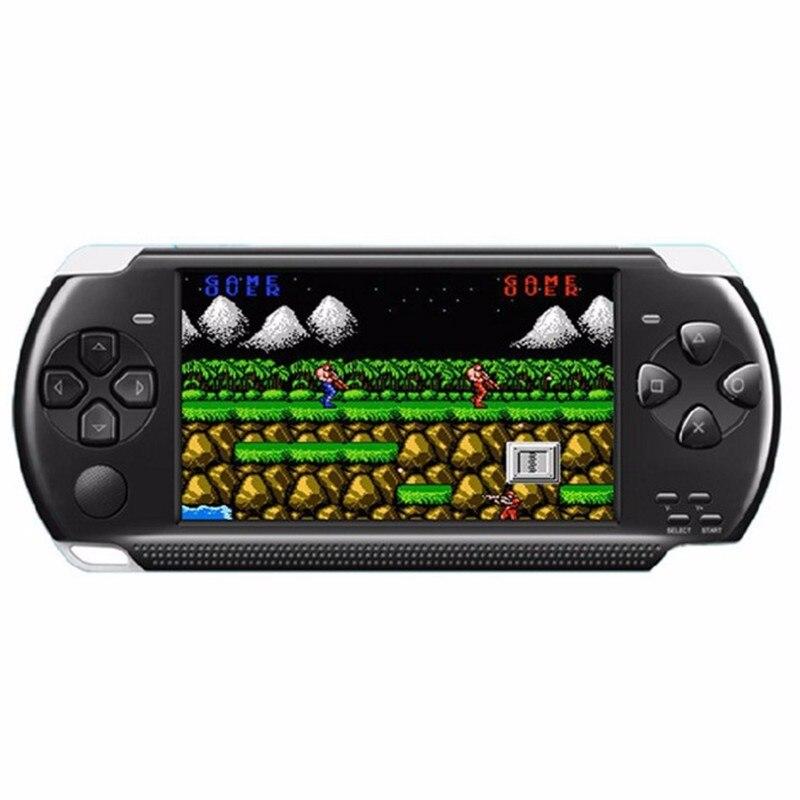 Console de jeu de poche rétro machine de jeu vidéo mémoire 8 GB 4.3 pouces écran HD lecteur MP5 MP4 avec caméra double système haut-parleur