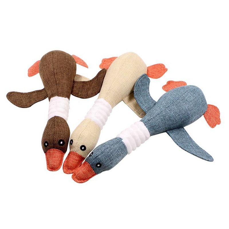 Cute Animal Birds Stuffed Plush Toys Dolls Mini Cartoon Sound Dolls For Boys Girls