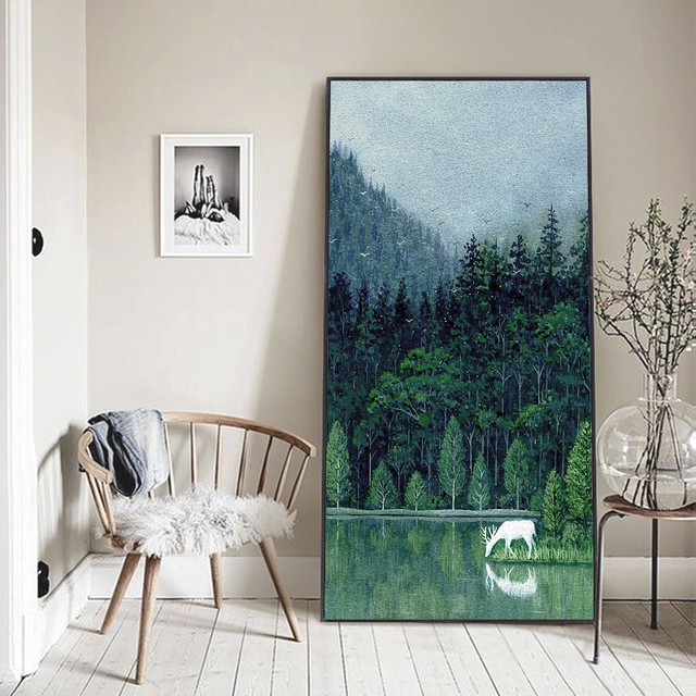 Pintura Pared Verde. Pintura De Pared Verde Colores Decoracin De ...