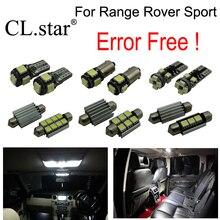 10pcs canbus error free interior lamp LED light kit package for Land Rover for Range Rover Sport (2014+)
