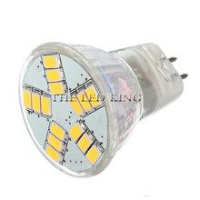 1-6 uds MR11 5730 lámpara LED 12v MR 11 3W 5W 7W blanco cálido 2700K 3000K 4500k 6000k luz blanca fría bombilla(China)