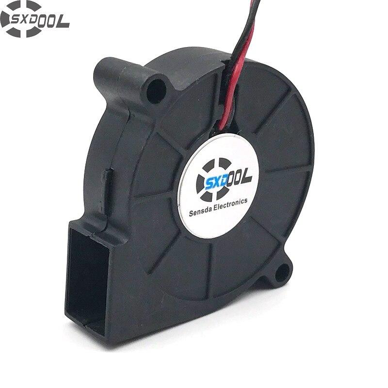 SXDOOL SF5015SL SF5015SM 12V 0.06A server cooling fan 5cm 5015 50x50x15mm blower