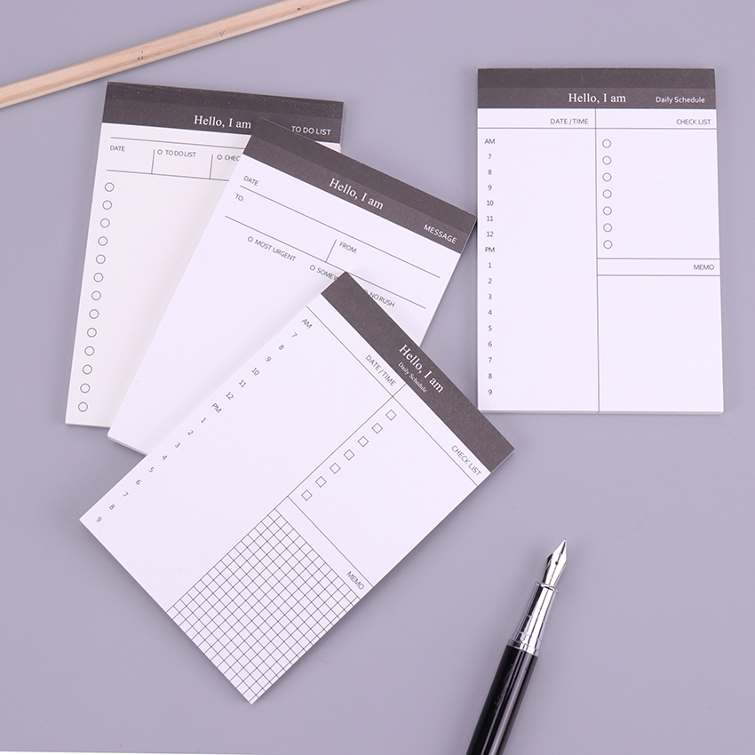 Cute Kawaii Business Planner Book Notebook Diary Agenda Filofax For Kids Office School Supplies