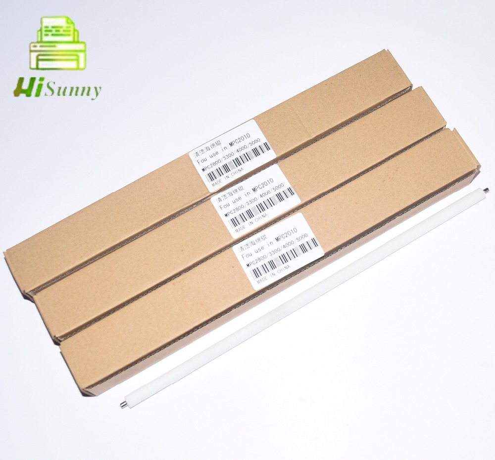 4pcs for Ricoh Aficio MPC2010 C2030 C2050 C2550 C2051 C2551 MPC2010 MPC2030 MPC2050 MPC2051 MPC2550 MPC2551 Cleaning Roller  -1