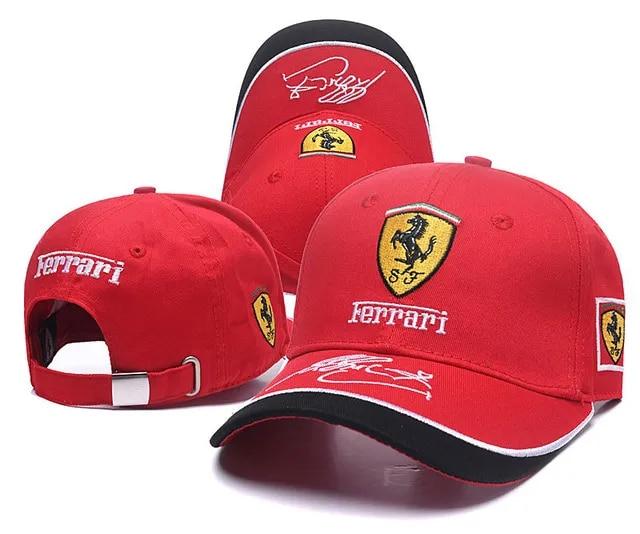 High quality new black style Auto Logo Adjustable Embroidered snapback hood Hat Mens Women Unisex 2019