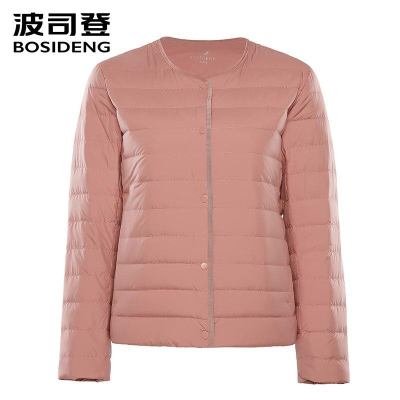 BOSIDENG 2018 nowa wczesna zima odzież damska kobiety płaszcz puchowy 90 kaczka kurtka puchowa ultra lekki wysokiej jakości duży rozmiar b80130012B w Płaszcze puchowe od Odzież damska na  Grupa 1