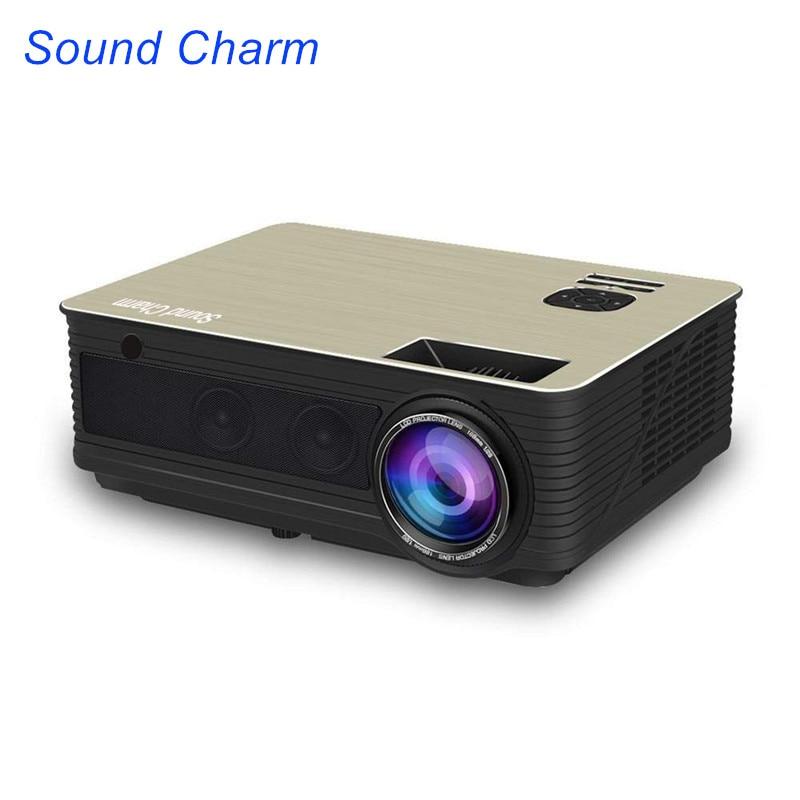 Son Charme 5500 Lumens Full HD LED Projecteur HD 1080 p Beamer HDMI USB Vidéo Projecteur
