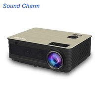 Sound Charm 5500 Lumens Full HD LED Projector HD 1080P Beamer HDMI USB Video Projector