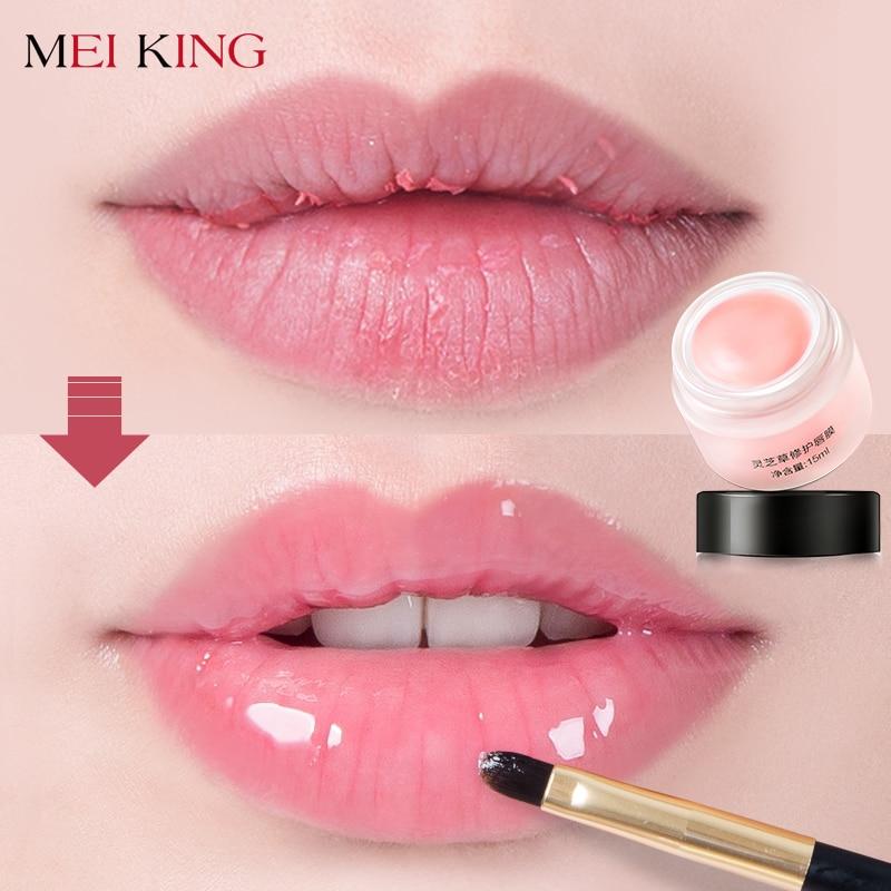 MEIKING Collagen Lip Plumper Sleeping Mask Exfoliator Lips Balm Care Repair Lip Lines & Wrinkles Moisturizing Nourish Hydrating city shop ncs106 hydro repair lip balm 3 4g