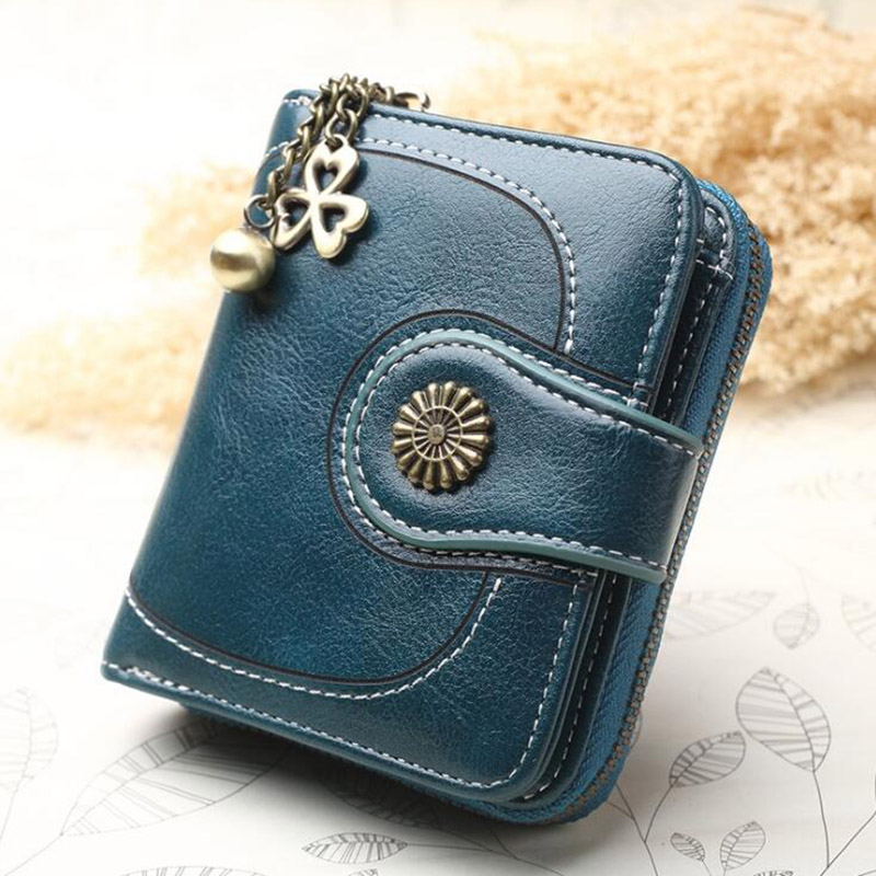 Fashion Womens Girls Stylish Zip Small Coin Purse Ladies Wallet Card Holder