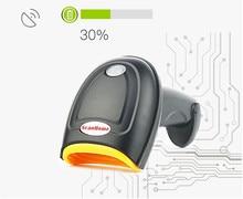 2017 new USB Laser Scanner de código de Barras Suporte de digitalização one-dimensional código two-dimensional código tela de verificação de telefone supermercado de Varejo