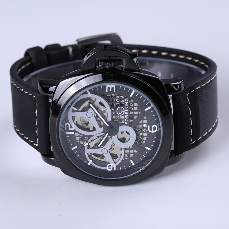 negro, Descuento esqueleto, relojes 4