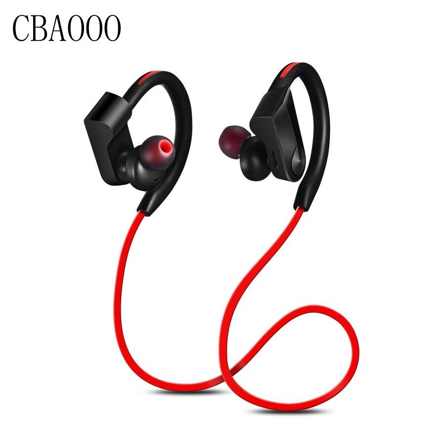 Sport Bluetooth font b Headphone b font Wireless Earphone Bluetooth Waterproof noise reduction Stereo Headset with