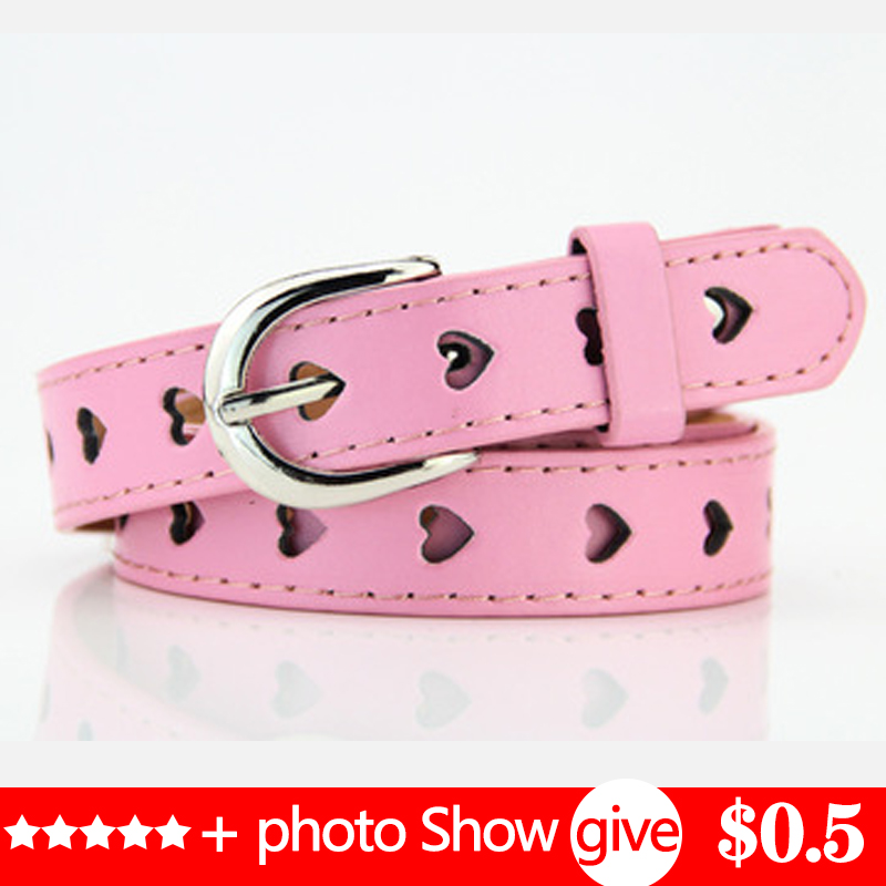 New Belts For Kids Girls Boys Kids PU Free Shipping Belts Small Belt For Baby Little Girl Jeans Belt Child P14604