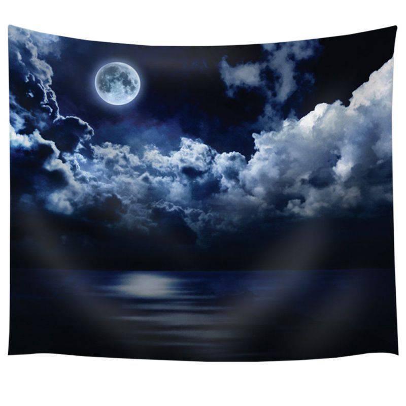 1Ps Mandala Blankets Tapestry Landscape Mountain Wall Hanging wandbehang gobelin Blanket Dorm Home Decor mantas mandalas