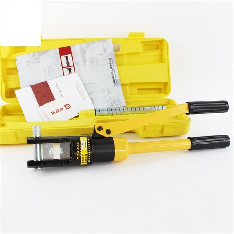 Hydraulic Crimping Tools YQK-240 Range 16-240mm2 Hydraulic Compression Plier Hydraulic Plier Tool 10T general hydraulic lietex 500x800x80 ral9016 10