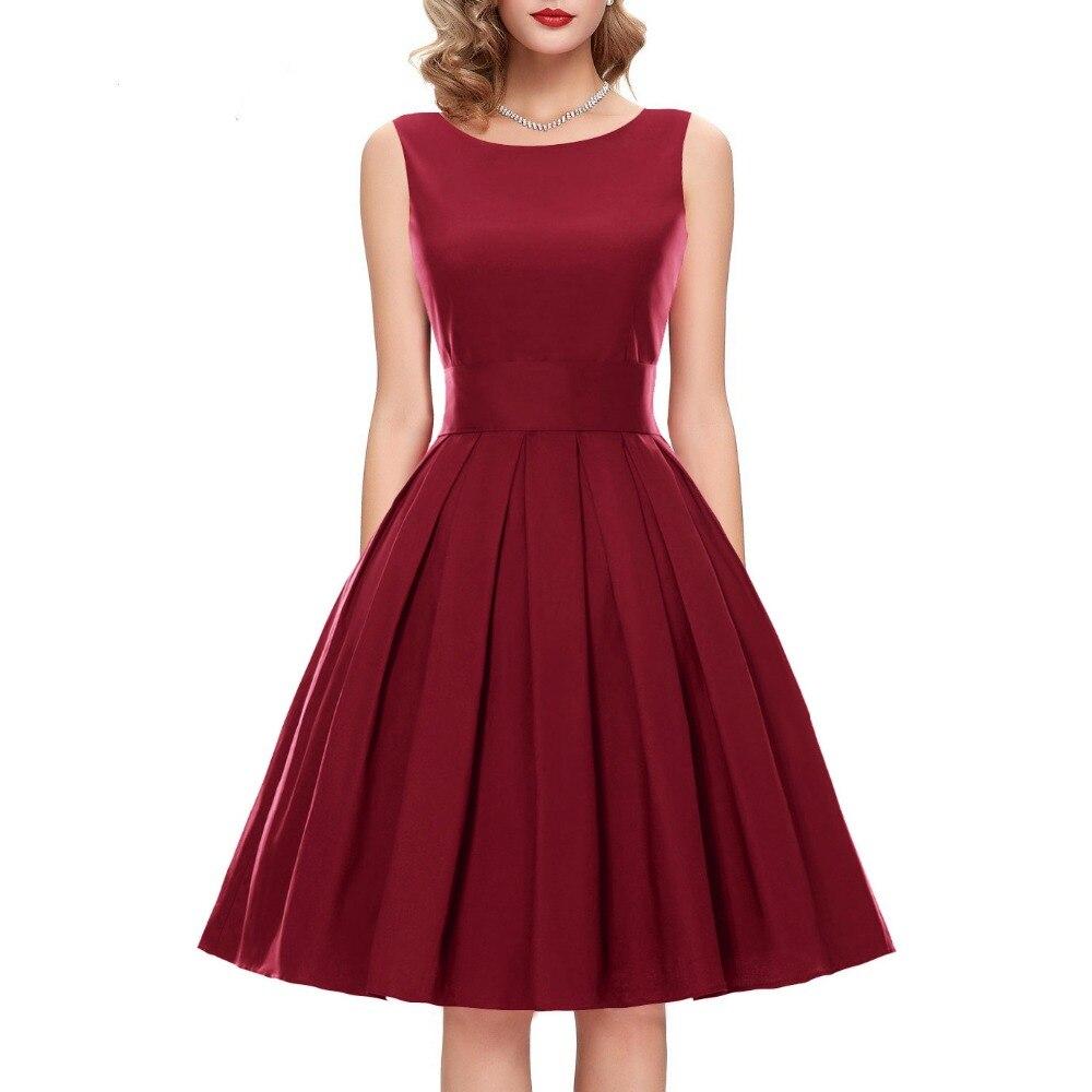 24 couleurs personnaliser femmes 1950 s Vintage rétro épaule Satin fête balançoire robe