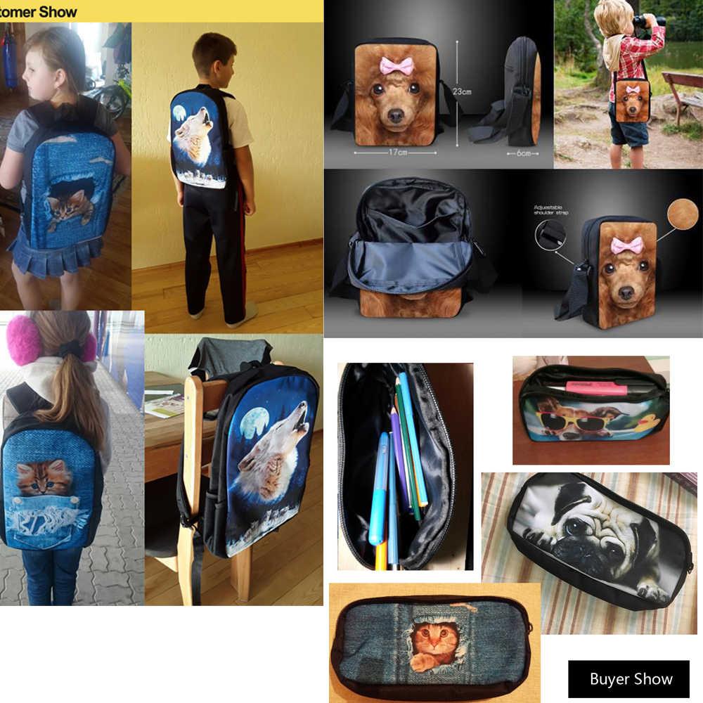 INSTANTARTS حقيبة مدرسية s مجموعة للأطفال متعدد الألوان غالاكسي ستار الفضاء طباعة حقيبة مدرسية سيدة حقيبة كتف مراهق فتاة المدرسة Plecak