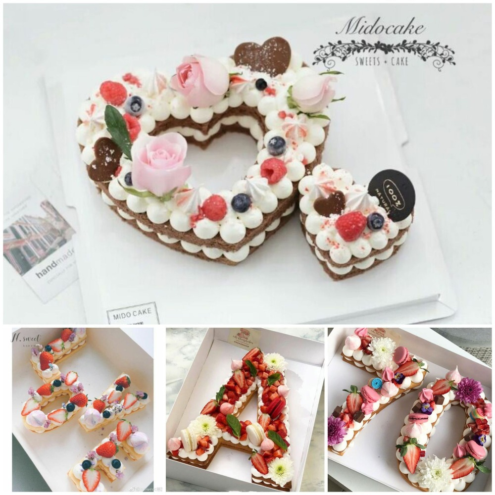 Wedding Party Decorations Heart Shape PET Plastic Cake Mold Decorating Tools Confeitaria Maker Useful Baking Accessories in Cake Decorating Supplies from Home Garden