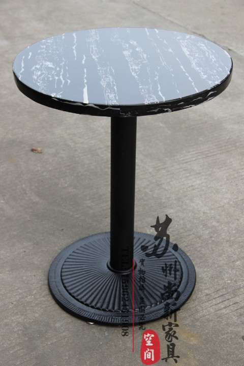 Customized Artificial Marble Small Round Table Restaurant Tea Cafe Tables Bar Specials