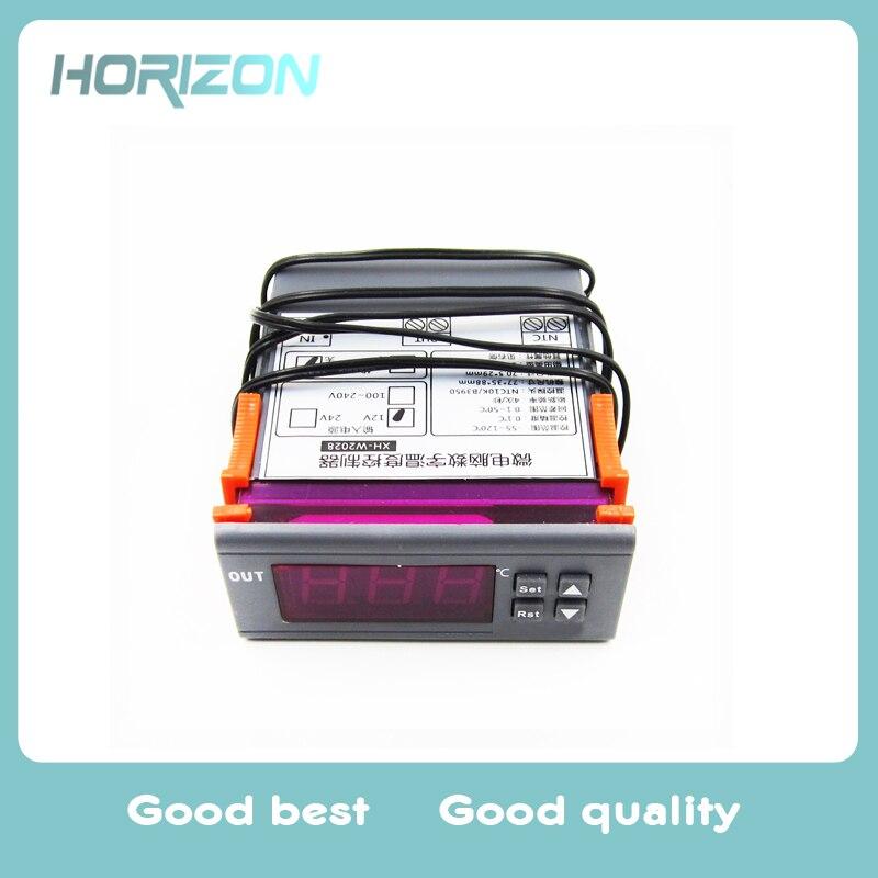 Messung Und Analyse Instrumente 10a 220 V Mini Digital Thermostat Hygromstat Luft Temperatur Controller Messbereich 1%-99% Mit Sensor