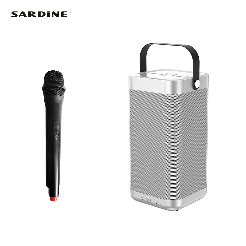 Sardine A9 light bluetooth speaker wireless sound box portable  speaker for outdoor camping home theatre support TF card and USB sardine a9 portable bluetooth speaker 5200mah rechargeable battery 16w high power mp3 music amplifier soundbar usb tf card aux