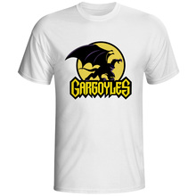 Gargoyles Goliath T-shirt Leader Of The Manhattan Clan Style Cartoon Design Print T Shirt Creative Funny Rock Women Men Top