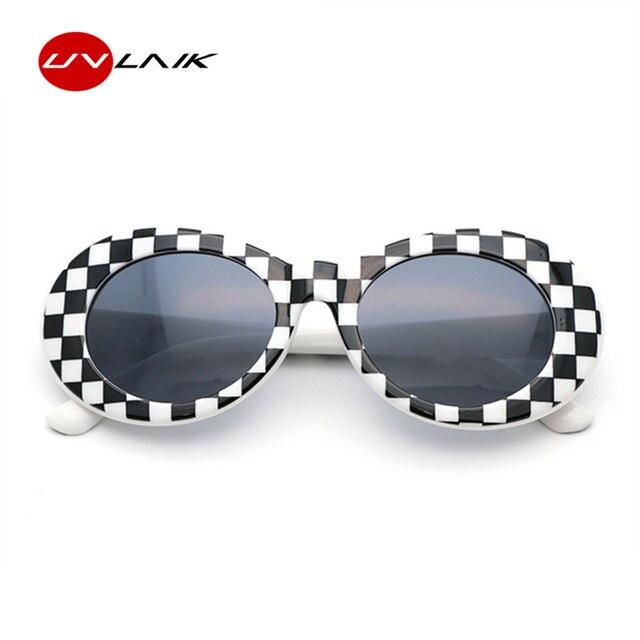 b1431cbce NIRVANA Kurt Cobain UVLAIK Rodada Espelhado Óculos De Sol Para As Mulheres  Homens Retro Masculino Feminino