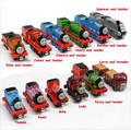 20PCS/LOT Diecast Metal Thomas and Friends Train The Tank Engine Trackmaster Toys For Children Kids Thomas Spencer James Lady