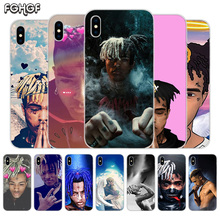 Fundas Silicone Phone Back Case For Apple iPhone 6 6S 7 8 Plus X 10 XS MAX XR 5 5S SE Heart Cover XXXTENTACION цена