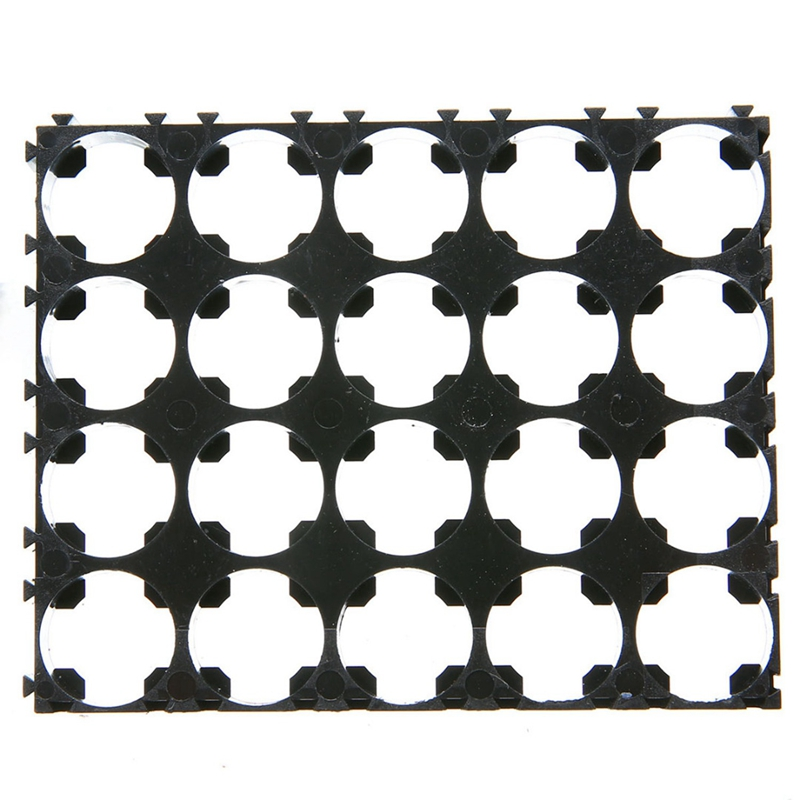 10Pcs 4X5 Cell Battery Spacer 18650 Battery Radiating Shell Pack Plastic Heat Holder Bracket in Battery Accessories Charger Accessories from Consumer Electronics