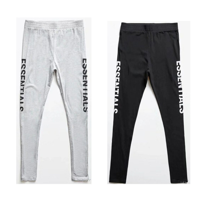 17192a12 18 New Fear Of God Sweatpants Justin Bieber Men Women Jogger Streetwear FOG  Pants Fear Of God Essentials Boxy Graphic Sweatpants