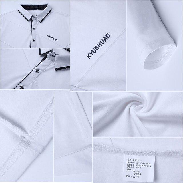 Brand Stripe Designer Slim Fit Casual Cotton  Plus Size 3