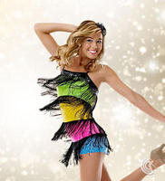 Latin Performance Wear Dance Clothes Costume Performance Wear Tassel Skirt Dance Skirt