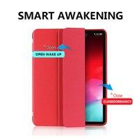 soft tpu TPU Soft Tablets Case For iPad Mini 4/5 2019 Tri-folded PU Leather Smart Protective Cover Tablet Case For iPad Mini 5 Case 7.9