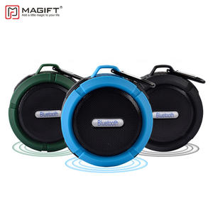 Magift Waterproof Bluetooth Wireless Speaker with Suction Cup Support TF Card