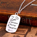 The Love between A Mother Daughter Is the Mother and Daughter Necklace for Women necklaces pendants colliers