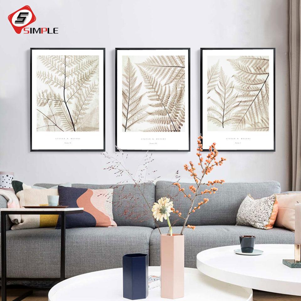 Online-Shop Keine Rahmen Flügel von engel Palm blatt Poster ...