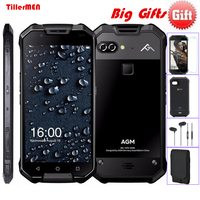 AGM X2 IP68 Waterproof Mobile Phone Dual 12MP Rear Cameras 16MP Front Snapdragon 6G 64GB 6000mAh
